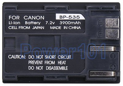 Canon FV2 BP-535 Camcorder Battery