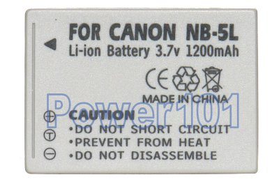 Canon NB5LH camera battery