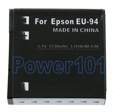 EU-94 battery for Epson Li-Ion 3.7V 1230mAh