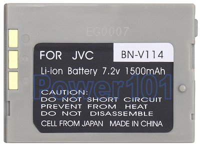 BN-V114 battery for JVC Li-Ion 7.2V 1500mAh