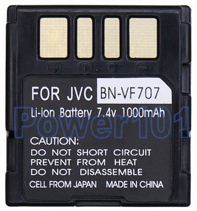 BN-VF707 battery for JVC Li-Ion 7.4V 1000mAh