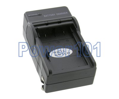 Compact Charger for Canon NB-1LH NB-1L +euro +car