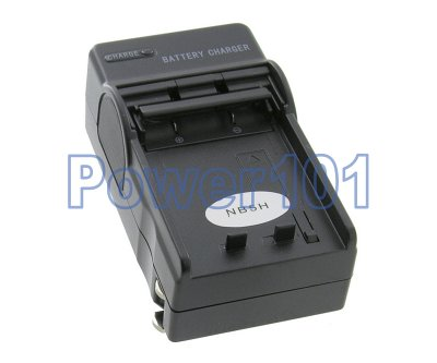 Canon NB-5H camera battery compact charger