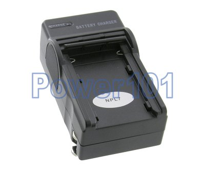 Compact Charger for Casio NP-L7 +euro +car
