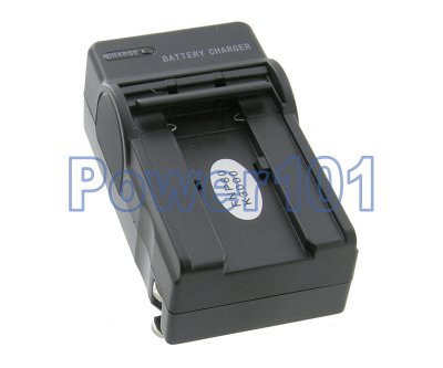 Compact Charger for FujiFilm NP-80 +euro +car