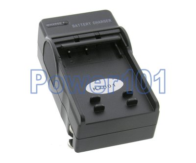 Compact Charger for Kodak Klic-7001 +euro +car