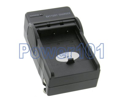 Compact Charger for Minolta NP-1 NP1 +euro +car