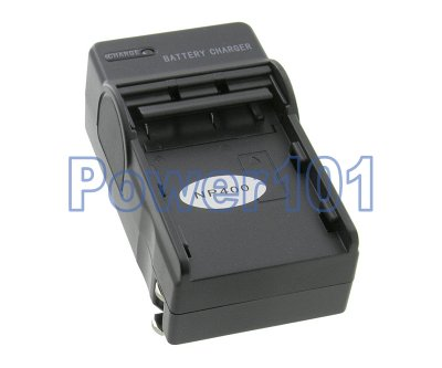 Compact Charger for Minolta NP-400 +euro +car