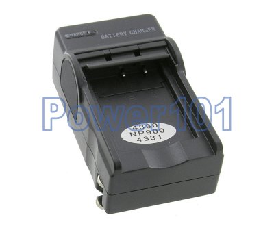 Compact Charger for Minolta NP-900 +euro +car