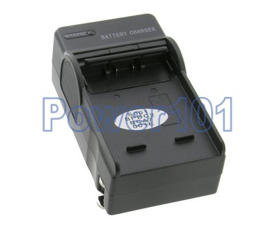 Compact Charger for Panasonic S001 BCA7 +euro +car