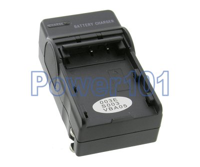 Compact Charger for Panasonic S003 VBA05 +euro +car
