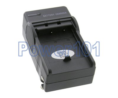 Compact Charger for Panasonic S004 BCB7 +euro +car