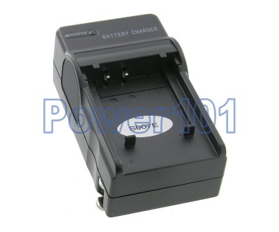 Compact Charger for Panasonic S007 BCD10 +euro +car