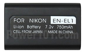 EN-EL1 battery for Nikon Li-Ion 7.2V 750mAh