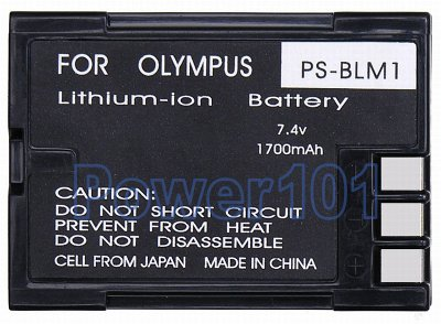 PS-BLM1 battery for Olympus Li-Ion 7.4V 1700mAh