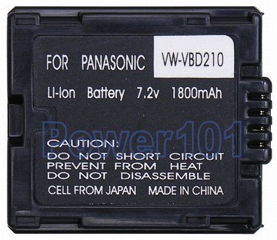 Panasonic CGRDU21a camcorder battery