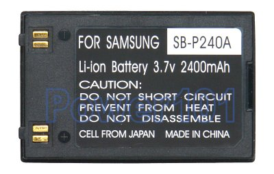 SB-P240A battery for Samsung Li-Ion 3.7V 2400mAh