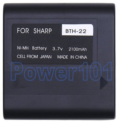 Sharp VL-E39U BT-H22 Camcorder Battery