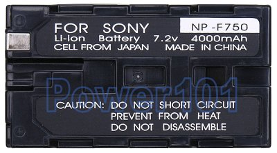 Sony NP-F730 camcorder battery