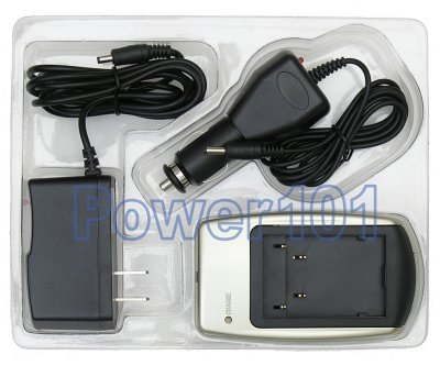Charger for JVC BN-VF707 VF714 VF733 +car cord