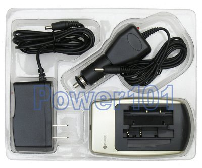 Charger for JVC BN-V107 BN-V114 BN-V507 BN-V514 +car