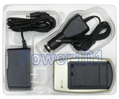 Charger for Panasonic DMW-BCA7 S001 +car