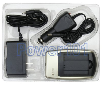 Charger for Sony NP-FF50 NP-FF70 NP-FF90 +car