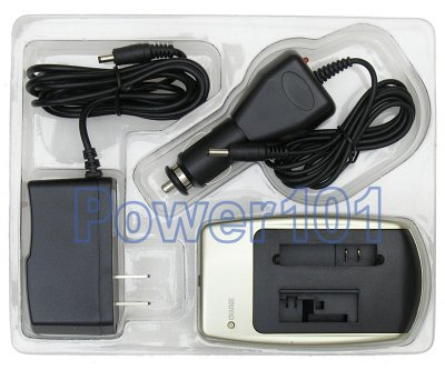 Charger for Sony NP-FA50 NP-FA70 +car
