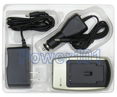 Charger for Sony NP-FE1 +car