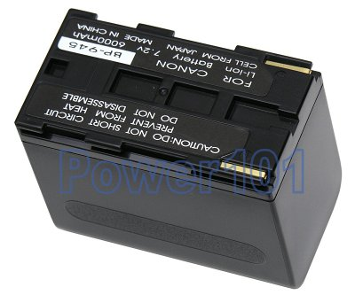 Canon ES8600 BP-945 Camcorder Battery