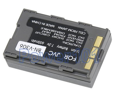 BN-V306 battery for JVC Li-Ion 7.2V 600mAh