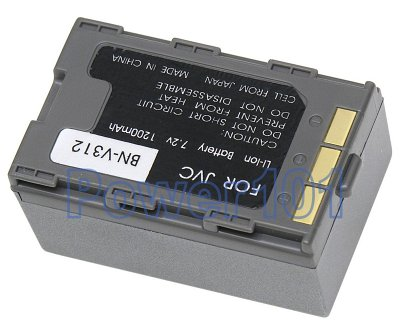 BN-V312 battery for JVC Li-Ion 7.2V 1200mAh