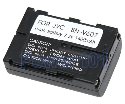 JVC BNV607 camcorder battery