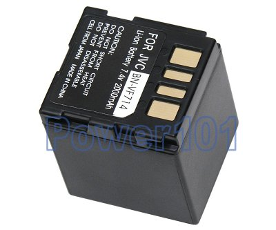 BN-VF714 battery for JVC Li-Ion 7.4V 2000mAh
