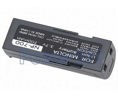 NP-700 battery for Minolta Li-Ion 3.7V 700mAh