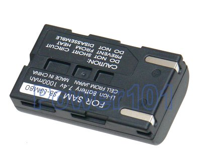 SB-LSM80 battery for Samsung Li-Ion 7.4V 1000mAh