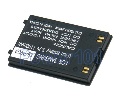 SB-P90A battery for Samsung Li-Ion 3.7V 1100mAh