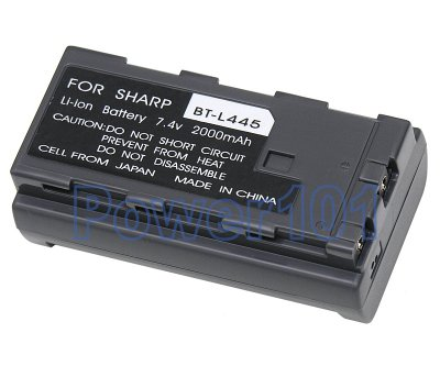 BT-L445 battery for Sharp Li-Ion 7.4V 2000mAh