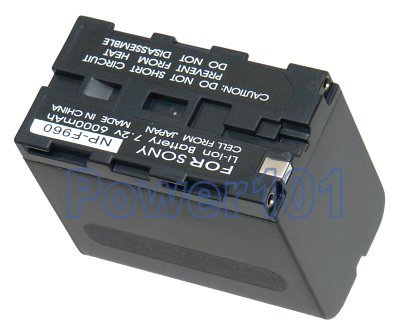 Sony CCD-SC5/E NP-F960 Camcorder Battery