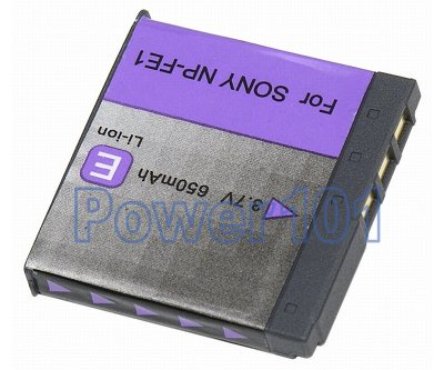 NP-FE1 battery for Sony Li-Ion 3.7V 650mAh