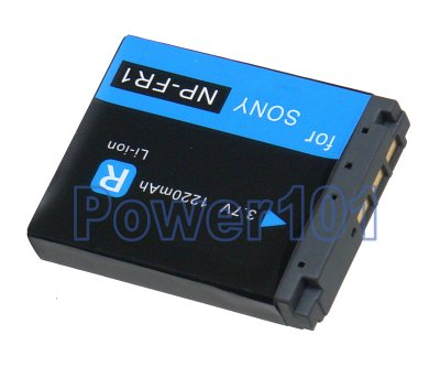 NP-FR1 battery for Sony Li-Ion 3.7V 1220mAh