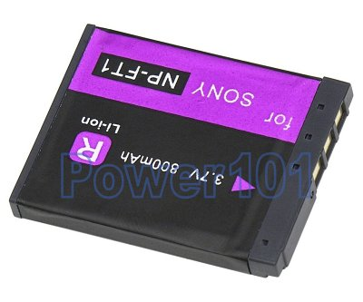 NP-FT1 battery for Sony Li-Ion 3.7V 800mAh